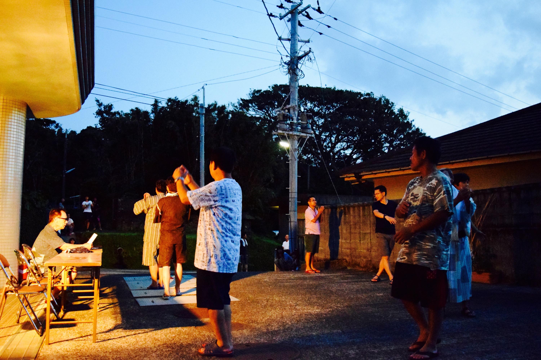 残していきたい伝統… 三島村 竹島の盆踊り!