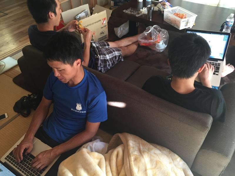 人口88人の竹島で、ジオパーク合宿を開催しました