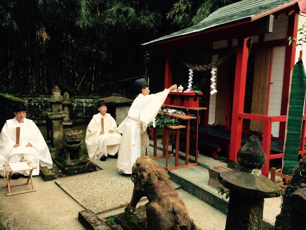 700年の歴史。離島の神社の祭祀。