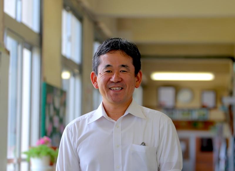 ジオパーク認定お祝いメッセージ –  三島村立竹島小中学校長 濵田達朗さま