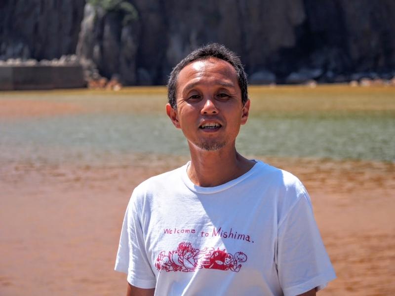 硫黄島では、秘湯の東温泉にすぐ行ける!-樋渡俊一さん