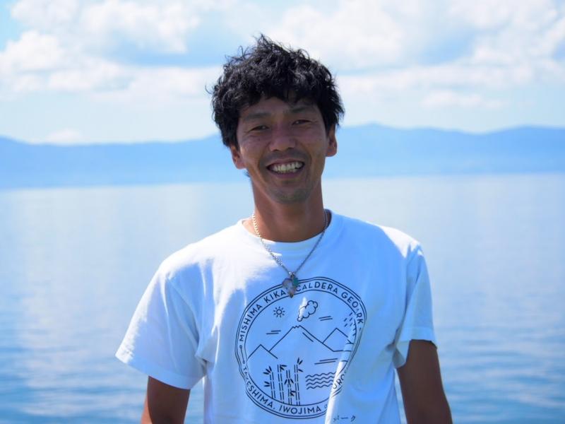 みんなが楽しく暮らせる島が長く続くように – 徳田健一郎さん