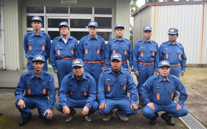 離島の安全を守る!竹島消防団の出初式!