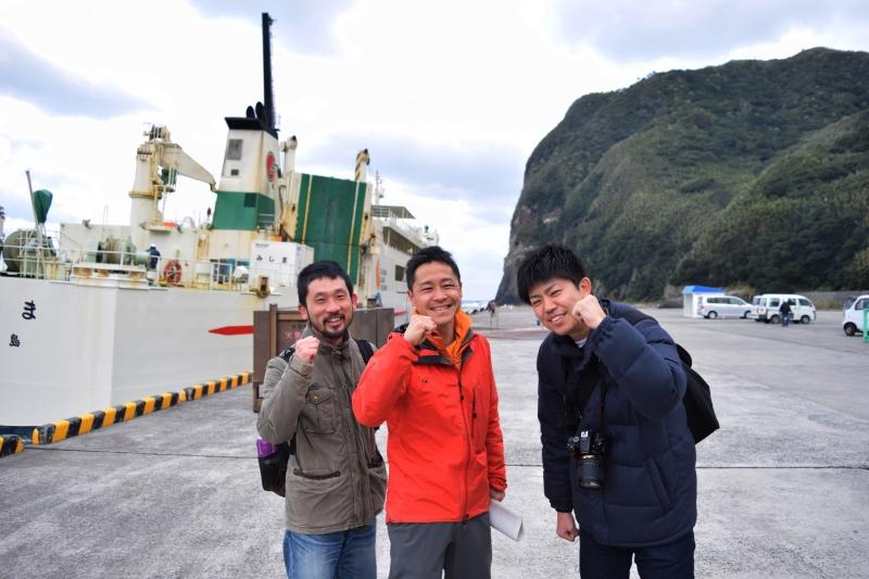 黒島へ上陸!説明会に行ってきました!