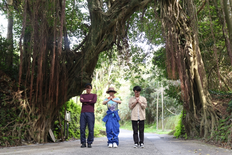 竹島に3人の若者がやってきた!離島で農業体験!