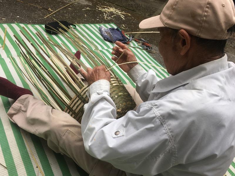 島の伝統を引き継ぐ。竹かご「テゴ」づくりに挑戦!