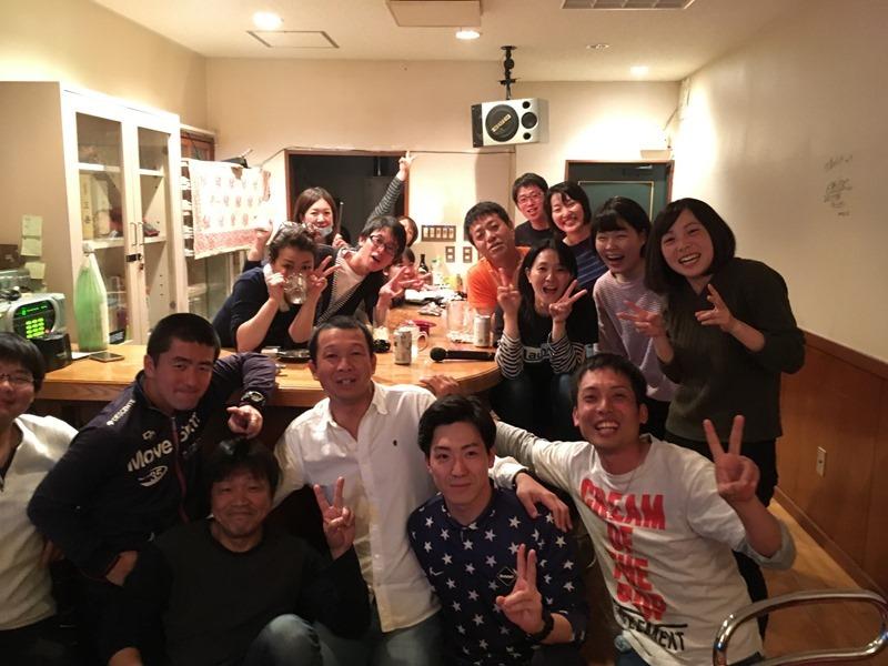 ようこそ竹島青年会へ!島の歓迎会。