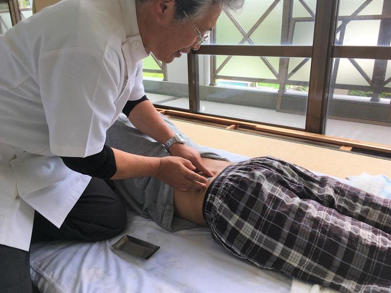 疲れた体をリフレッシュ!三島村 無料の鍼灸サービス!
