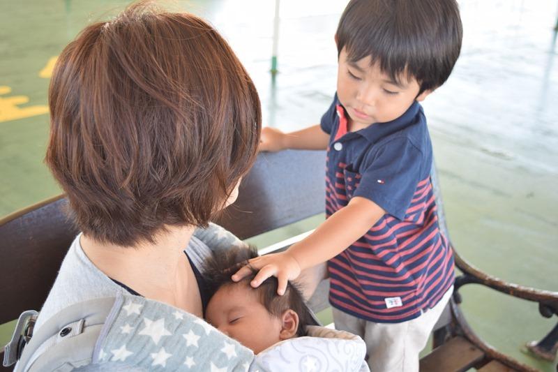新しい家族、初めての竹島へ。離島で子育て。