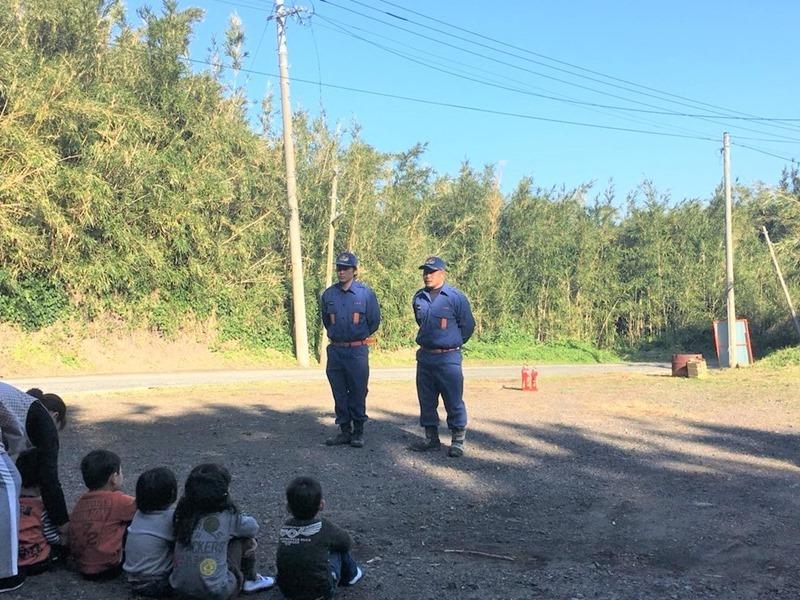 ちびっ子たちの避難訓練!離島の保育園。