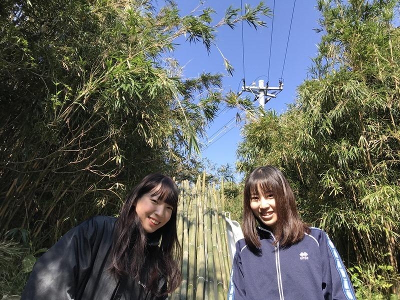 2人のカメラ女子 in 竹島 part2。離島のボランティアツアー。