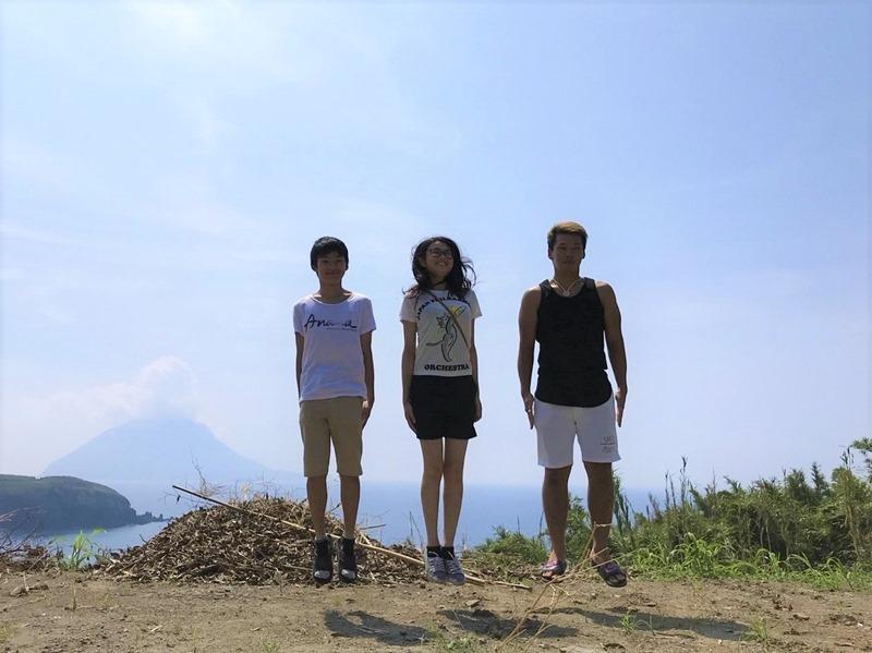 離島に住み込んで村おこしボランティア!3人の学生が来てくれました!