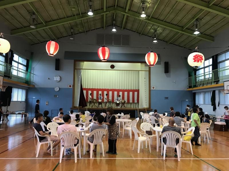 竹島で数年ぶりの納涼大会!離島の祭り。