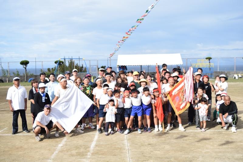 全員参加!70人の島の運動会。