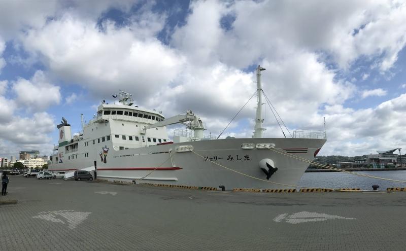 新船「フェリーみしま」就航!! 初日に乗船してきました!
